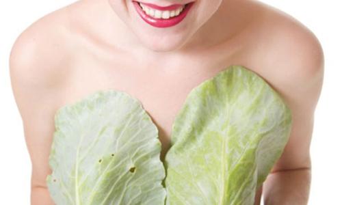 Капустный лист помогает при лактостазе