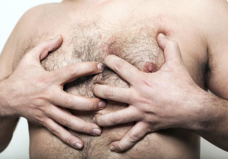 Беспокойство при паталогии молочных желез у мужчин